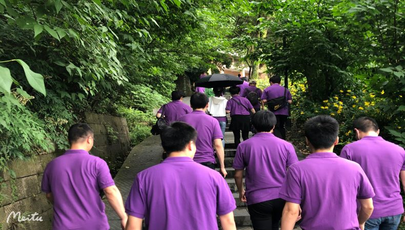 West Creek Valley Walk          【Chance Pharmaceutical May Staff Activities】
